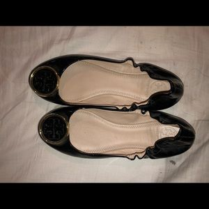 Tory Burch Shoes - Tory Burch Black Flats